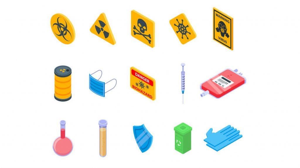 COVID-19: triplicata la raccolta dei rifiuti sanitari