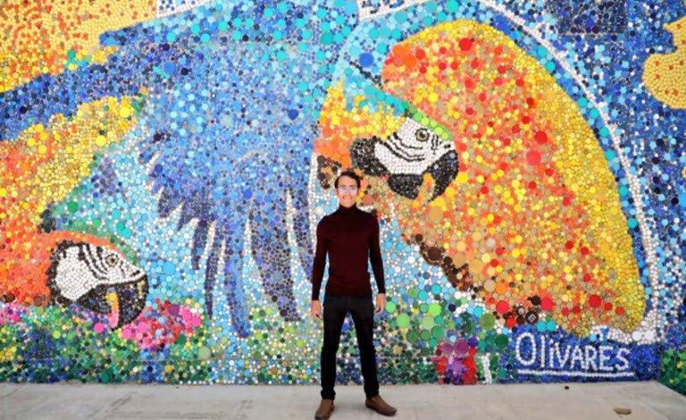 Trasformare rifiuti in arte